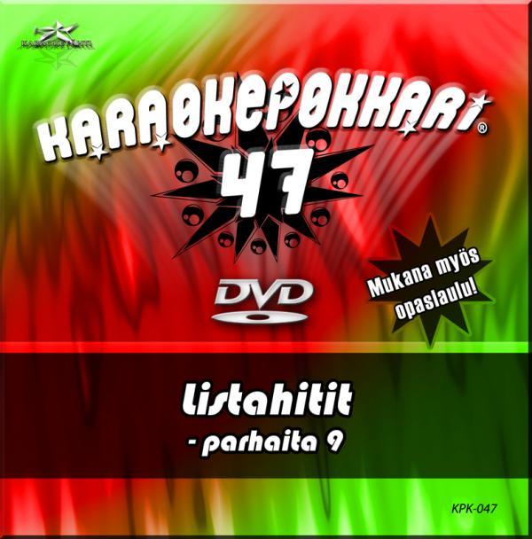 KARAOKEPOKKARI DVD Karaokepokkari 47 - L, discoland.fi