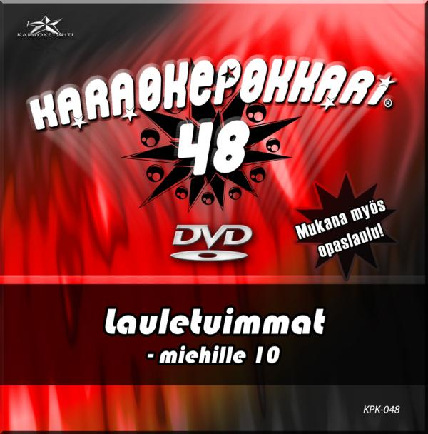 KARAOKEPOKKARI DVD Karaokepokkari 48 - L, discoland.fi