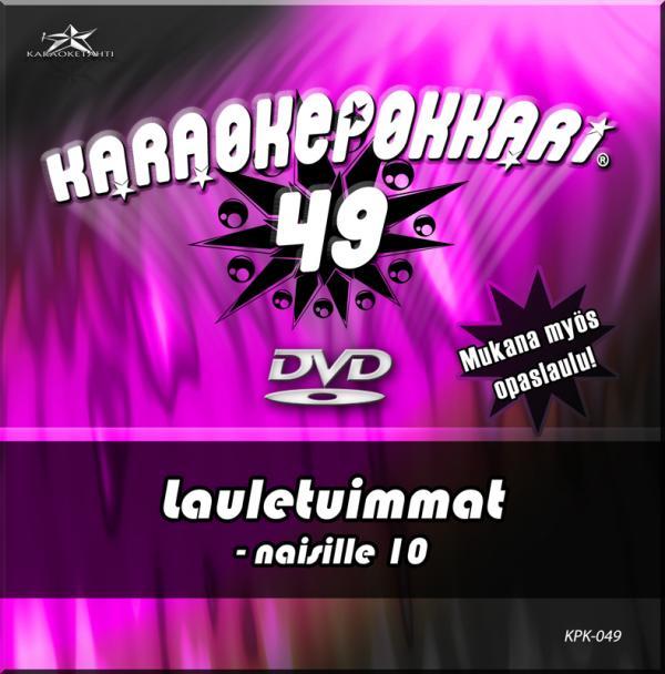 KARAOKEPOKKARI DVD Karaokepokkari 49 - L, discoland.fi