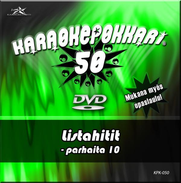 KARAOKEPOKKARI DVD Karaokepokkari 50 - L, discoland.fi