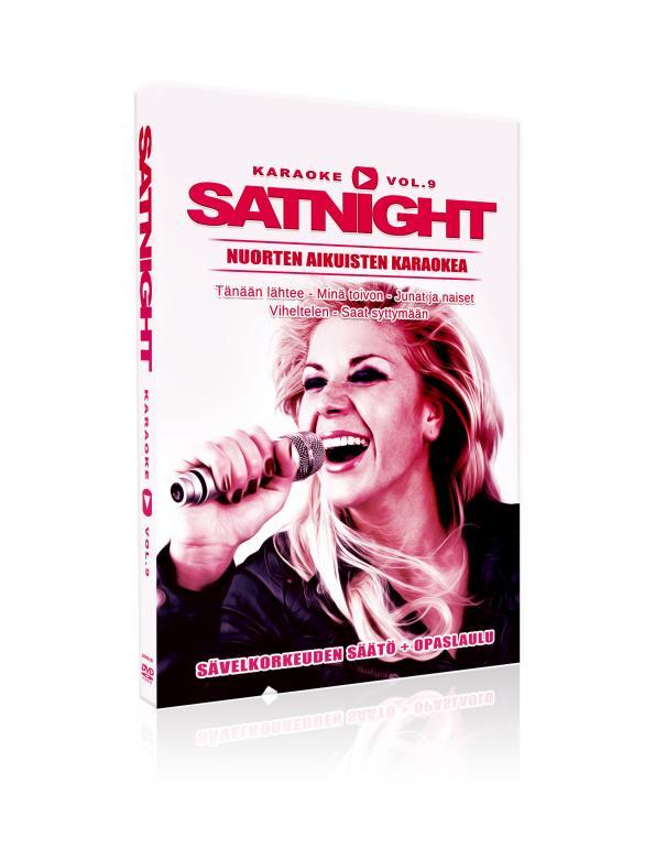 SATURDAYNIGHT Karaoke DVD vol 9 DVD levy, discoland.fi