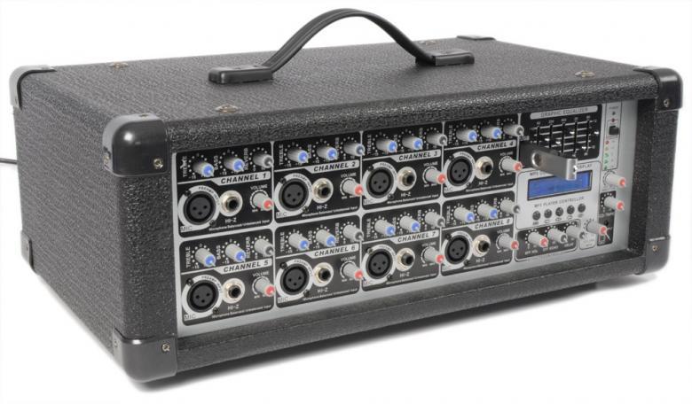 POWERDYNAMICS PDM-C808A Mikserivahvistin, discoland.fi