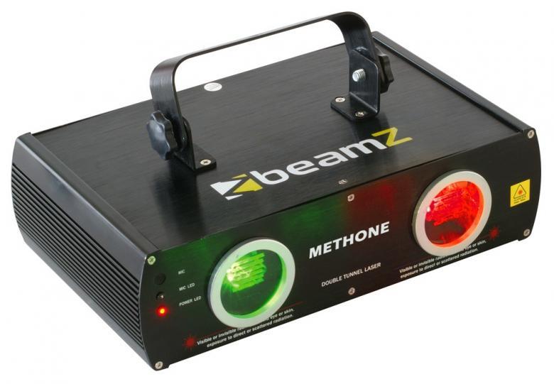 BEAMZ Methone 3D laserefekti puna-vihre�, discoland.fi