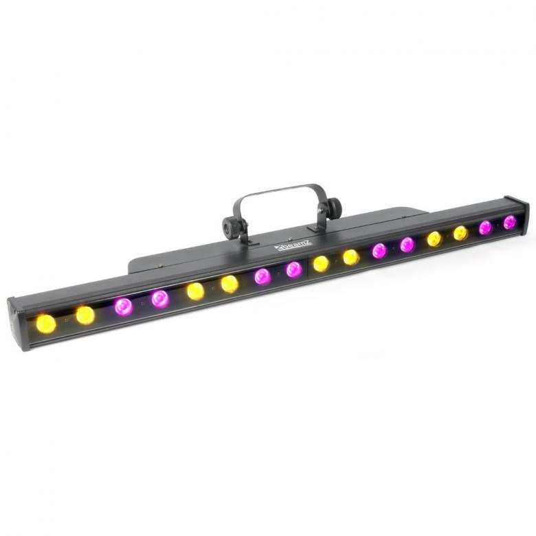 BEAMZ PRO LCB-48 Color LED-palkki 16x 3W, discoland.fi
