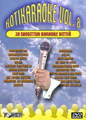 POWER Kotikaraoke Vol.8 DVD karaoke levy, discoland.fi