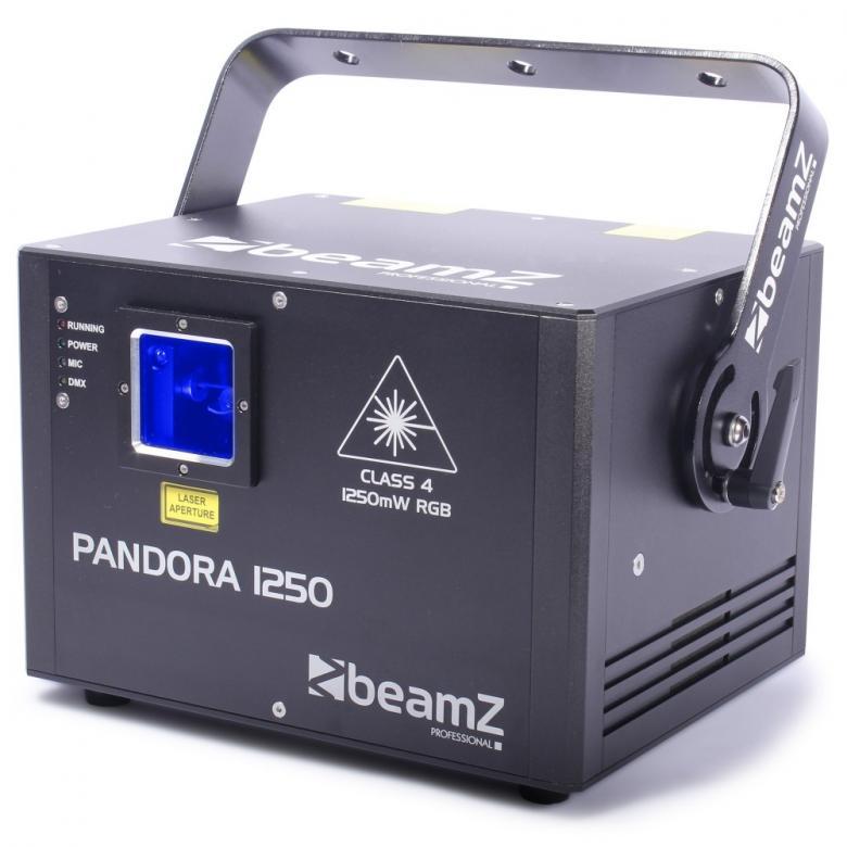 BEAMZ Pandore PRO Laser 1,25W  1250 TTL , discoland.fi