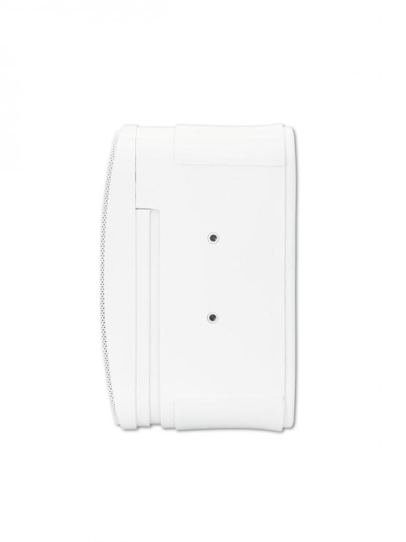 OMNITRONIC Control 1 kaiutin valkoinen/pari, RMS 30W. Laadukas kontrolli kaiutin. Helppo asentaa erillisellä seinäteline sarjalla. kaunis kopio JBL one kaiuttimesta. Mitat 230 x 150 x 150 mm sekä paino 1.6kg.