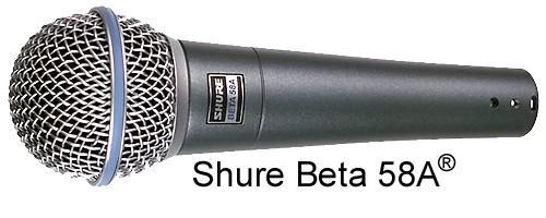 SHURE SM58 Beta58A - ammattitason laulum, discoland.fi