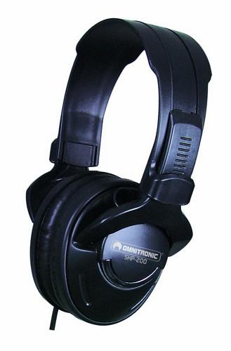 OMNITRONIC SHP-200 Comfortable DJ Stereo, discoland.fi