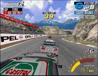 SHOW WORLD VUOKRAUS Touring Cars Twin, Katurata-ajopeli, 1-2 pelaajaa