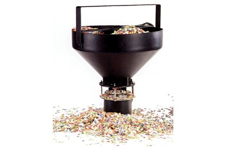 SHOW WORLD VUOKRAUS CONFETTI  MACHINE, k, discoland.fi