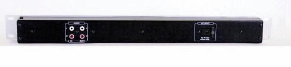 OMNITRONIC DB-100 VU Mittari näyttö hopea Decibel level meter, VU meter