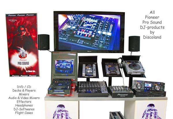 PioneerPlaceNo1 Pro Sound DJ-tuotteiden , discoland.fi