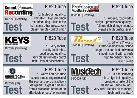 P 820 Tube Test