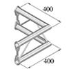 BISYSTEM 2-tie kulmapala 90° PV-21 vertical. 2-wa