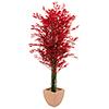 180cm Limoviikuna monirunkoinen, punainen, decorat, discoland.fi