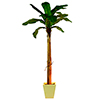 EUROPALMS 330cm Banaanipuu. Banana tree. Natural appearing banana tree with trunk covered by natural