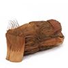 Käsittelemätön kookosparkkikuitu. Coconut bark,