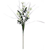 50cm Asteri koristeruoholla, valkoinen. Asterit ov
