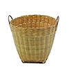 Bambu suojaruukku kahvoilla 37 x 31,5cm. Bamboo fl