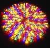 RUBBERLIGHT Valoletku 9m, monivärinen, 13mm paksu