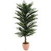 150cm Pihta, muovia. Pine tree. Out of realistic p