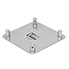 QUADLOCK päätylevy 6082 End Plate QQGP-male