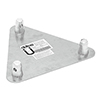 TRILOCK päätylevy 6082 QTG-uros Base/wall-plate
