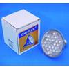 PAR-30 230V E27 24x 10mm LED-lamppu yellow 30°