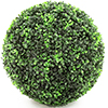 EUROPALMS ~33cm Puksipuupallo, muovisekoite. Boxwood ball. Successful imitation, effective decoratio
