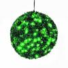 40cm Puksipuupallo LEDeillä, väri vihreä. On ni