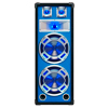 SKYTEC PA Blue Speakerbox 2x 8