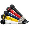 DM120 Mikrofonisetti sisältää 5kpl mikrofoneja.