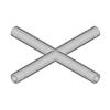 SINGLELOCK 4-tie risteyspala 90° SPAC-41. 4-way c