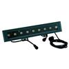 LED IP65 T500 LED-TCL 9x 3W TCL LED RGB-värit 15�