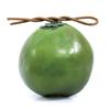 Kookospähkinä nuori ja vihreä, muovia. Sopii hy