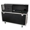 OMNITRONIC Kuljetuslaatikko pyörillä kuudelle Pixel Mesh LED-paneelille. Flightcase for 6x LED Pixel Mesh 64x64