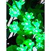 120cm Kukkivat oksat LEDeillä, 160kpl LEDiä, vä