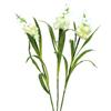 85cm Arum-kukkasetti 60 valkoista LEDiä, sisält�