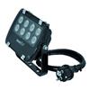 LED valaisin IP56 FL-8 punainen. 60� 8x 1W LEDit. , discoland.fi