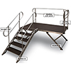 Dura-SR rails for stair, 2kpl turvakaidetta Dura-S