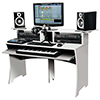 Höyläpenkki DJ pöytä 1520 x 951 x 550mm valkoi
