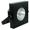 LED UV-valaisin Gun 60W COB LEDillä 25°, IR-kauk
