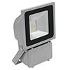 LED IP65 FL-80 COB 80W LED-ulkovalaisin, valon vä