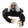 Halloween Zombie vanha mies, animoitu moottorilla,, discoland.fi