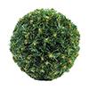 30cm tyylikäs jouluinen havupallo, vihreä.