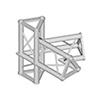 TRISYSTEM 4-tie kulmapala 60° PAC-20-4. 4-way cor