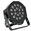SLS-180 LED RGB 18x 1W 35° lattia spotti. LED-spo