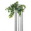 45cm Muraattiköynnös lehtisuonikuviolla, vihreä