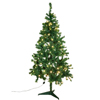 180cm Joulukuusi, valaistu LED-valoketjulla, valon
